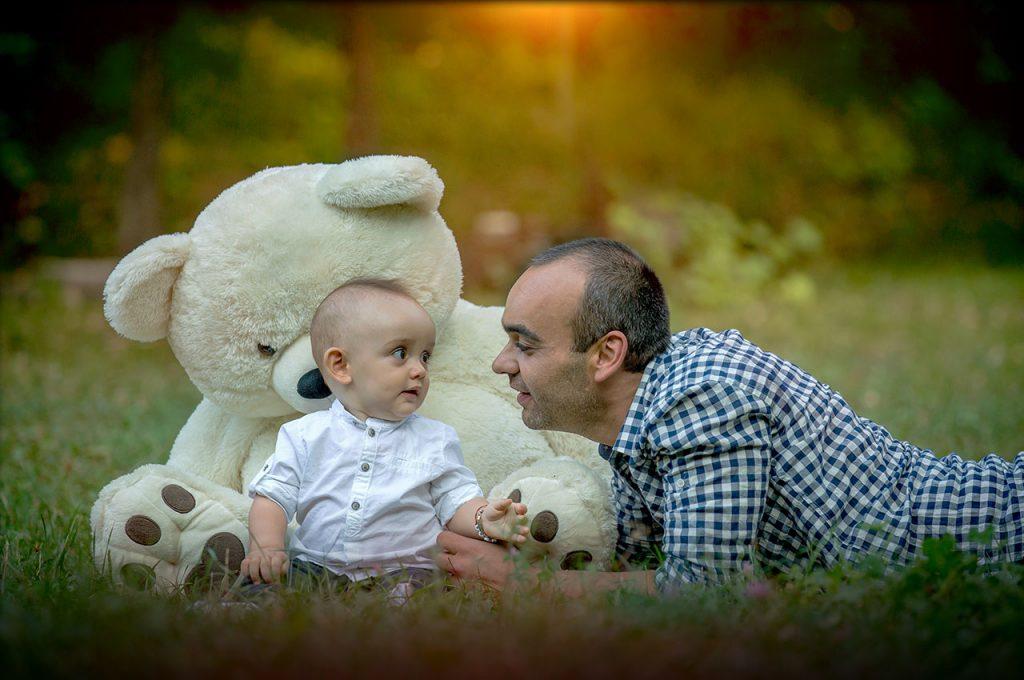 Аз, мечо и татко